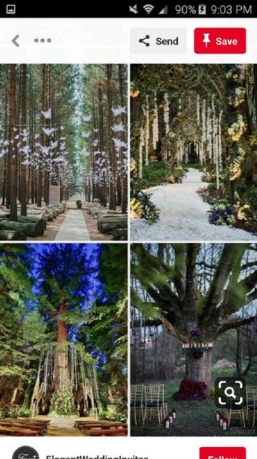 diy Enchanted Forest Themed Wedding Decorations 27