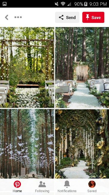 diy Enchanted Forest Themed Wedding Decorations 28