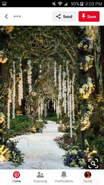 diy Enchanted Forest Themed Wedding Decorations 29