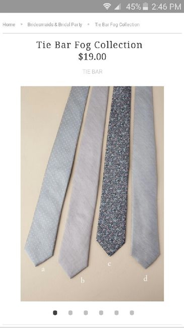 Help! Finding matching ties... 3