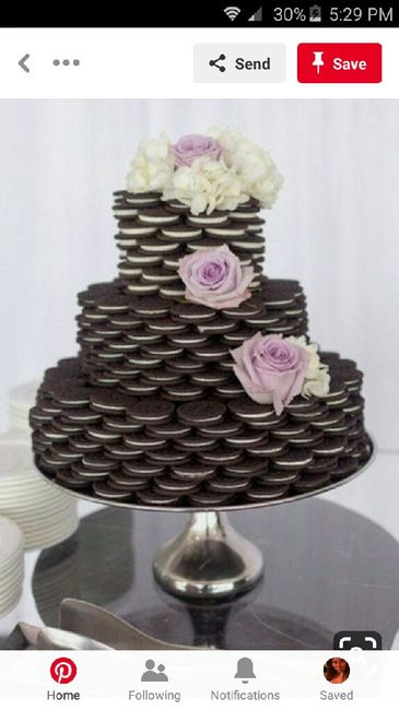 Do we really need a wedding cake? Would anyone even care? 1