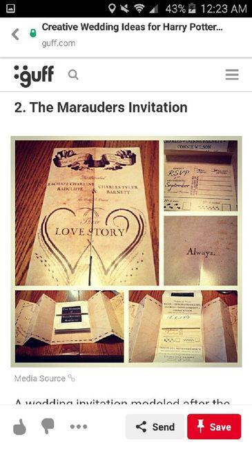 Harry Potter Themed Wedding 2