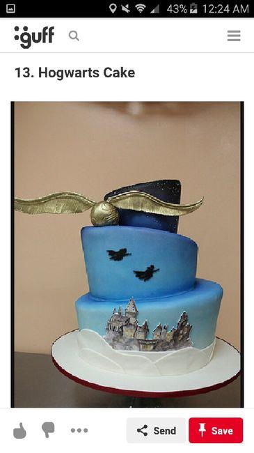 Harry Potter Themed Wedding 7