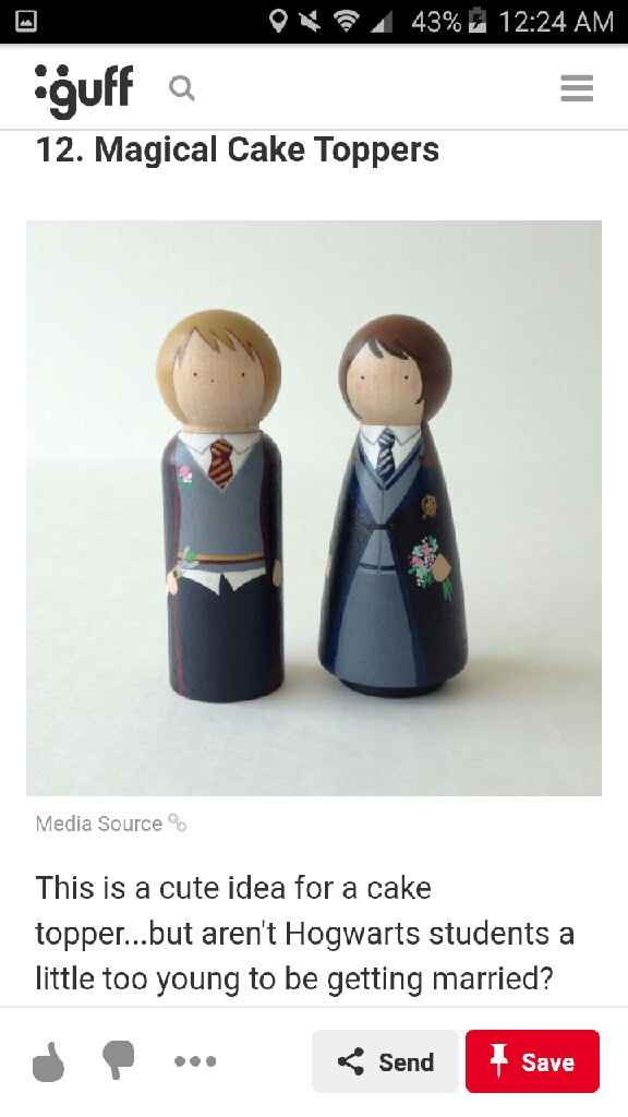 Harry Potter Themed Wedding - 6