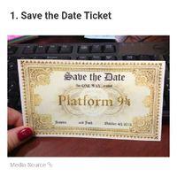 Harry Potter Themed Wedding - 1