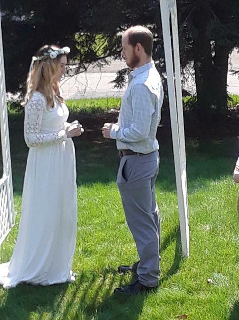 Covid19 wedding 4/19/20 - 1
