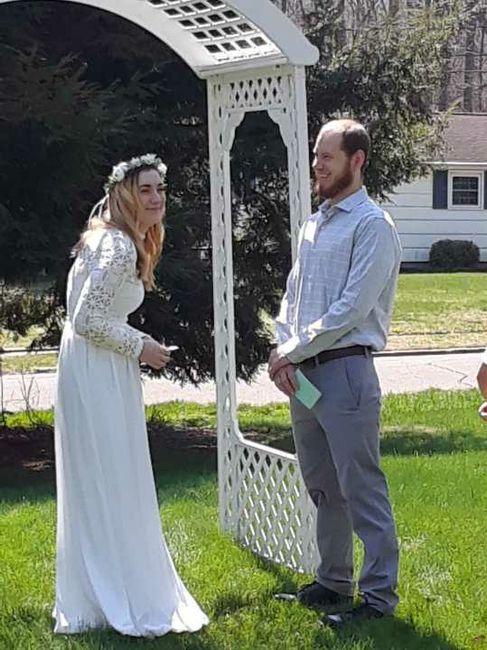 Covid19 wedding 4/19/20 - 3