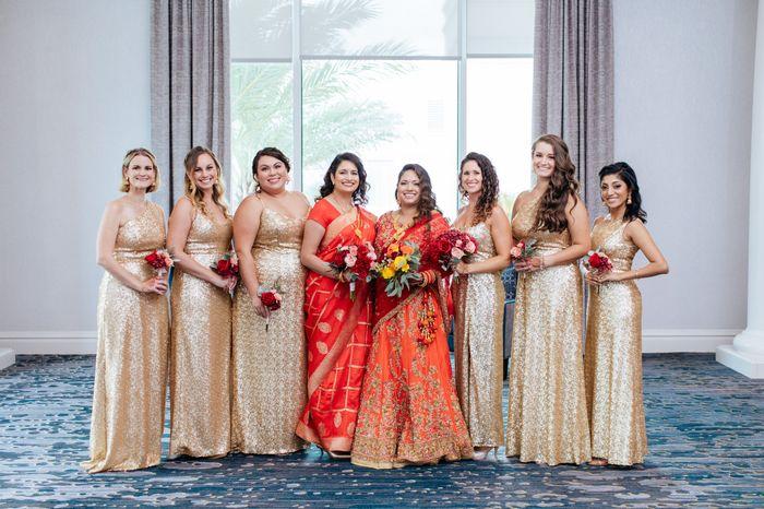 Bridesmaids without bouquets? - 1