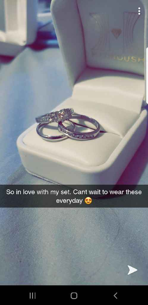 Show me your ring sets!! 💎💍😍💕 - 1