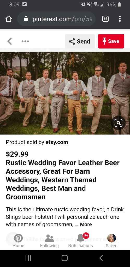 Is it okay to tell the groomsmen to byo khakis? - 2