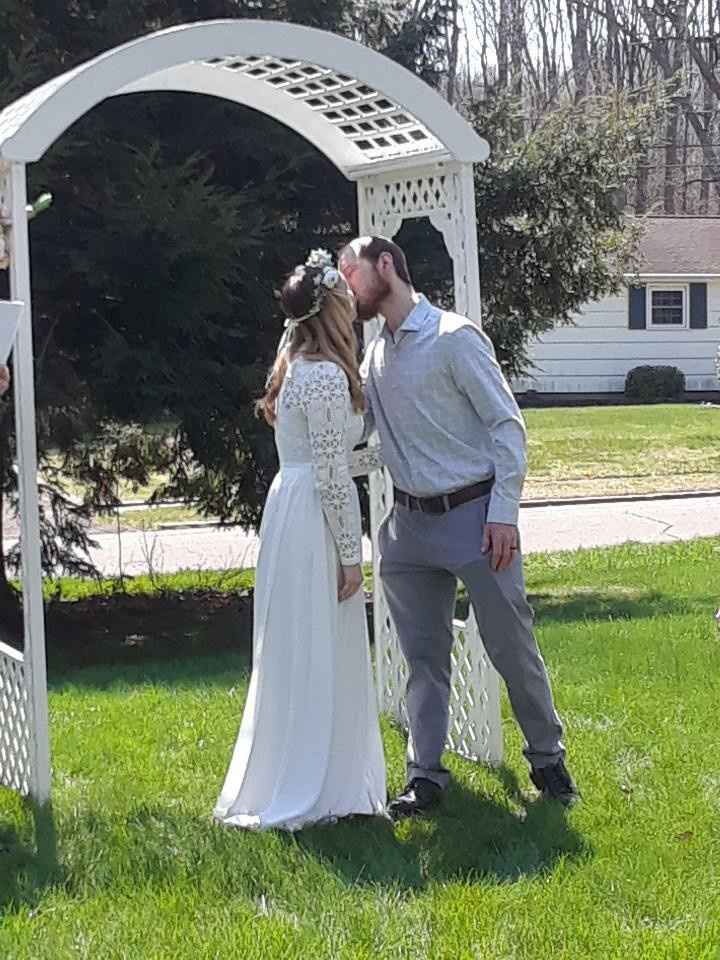 Covid19 wedding 4/19/20 - 2