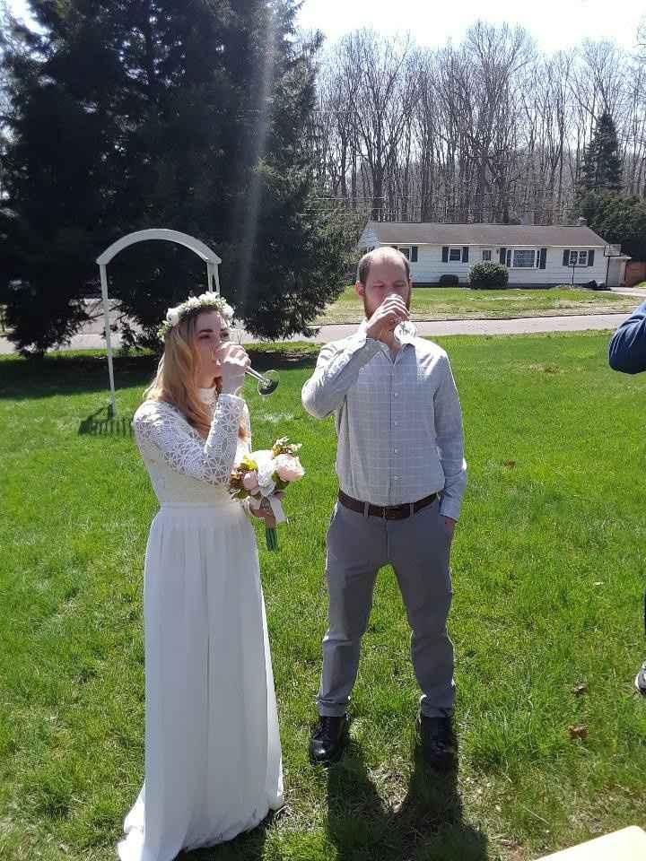 Covid19 wedding 4/19/20 - 5