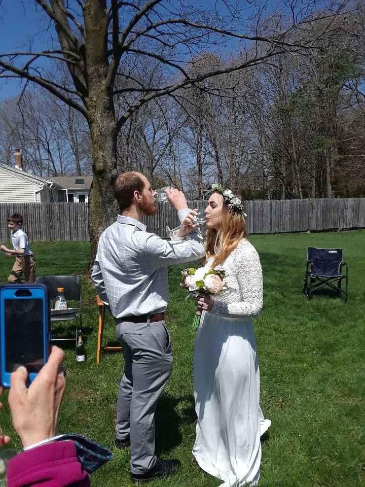 Covid19 wedding 4/19/20 - 7