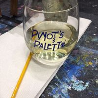 BAB! Sangria, cheese and paint. Oh my!