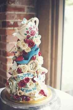 Inspired cake