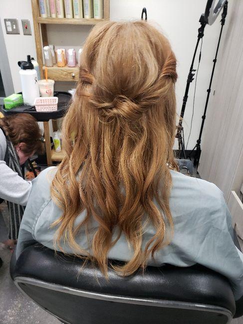 Windy Beach Wedding - Need Hair Help 1
