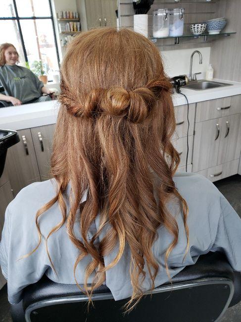 Windy Beach Wedding - Need Hair Help 3