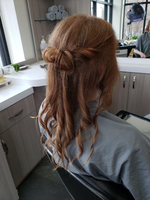 Windy Beach Wedding - Need Hair Help 4