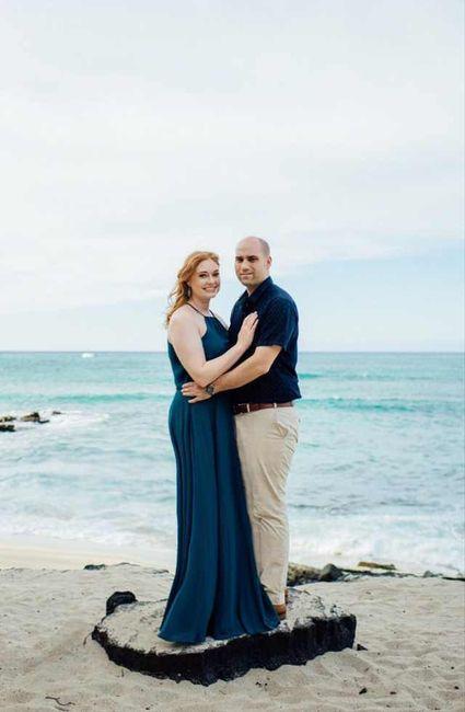 Windy Beach Wedding - Need Hair Help 5
