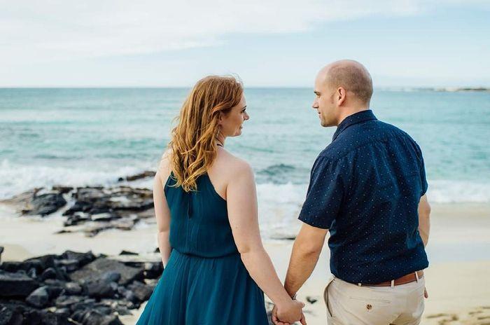 Windy Beach Wedding - Need Hair Help 6