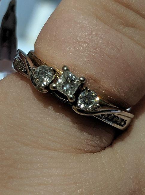 Wedding ring - wrap, band, or guard? 1