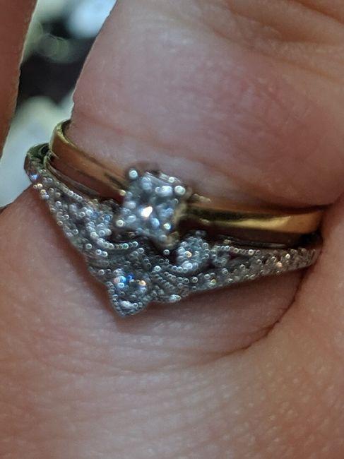 Wedding ring - wrap, band, or guard? 2