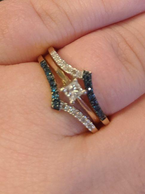 Wedding ring - wrap, band, or guard? 3