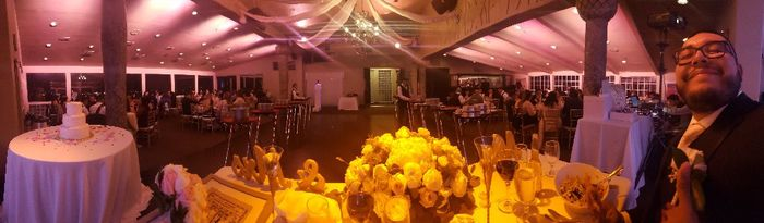 View from the sweetheart table