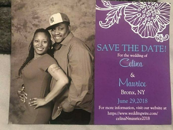 Save the dates - picture or no picture? 3