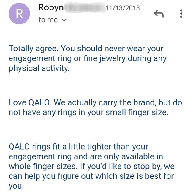 Wearing a ring 24/7? - 2