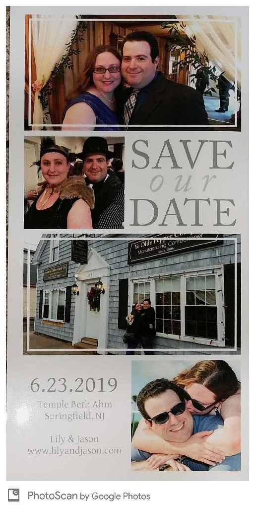 Did you design your own Save the Dates or Invitations? - 1