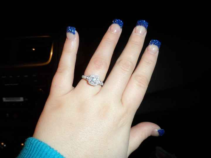 yay!!! my ring is back (art-sy pic) show me yours