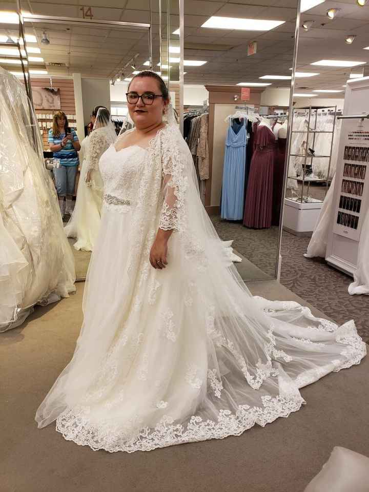 Second thoughts about wedding dress - 1