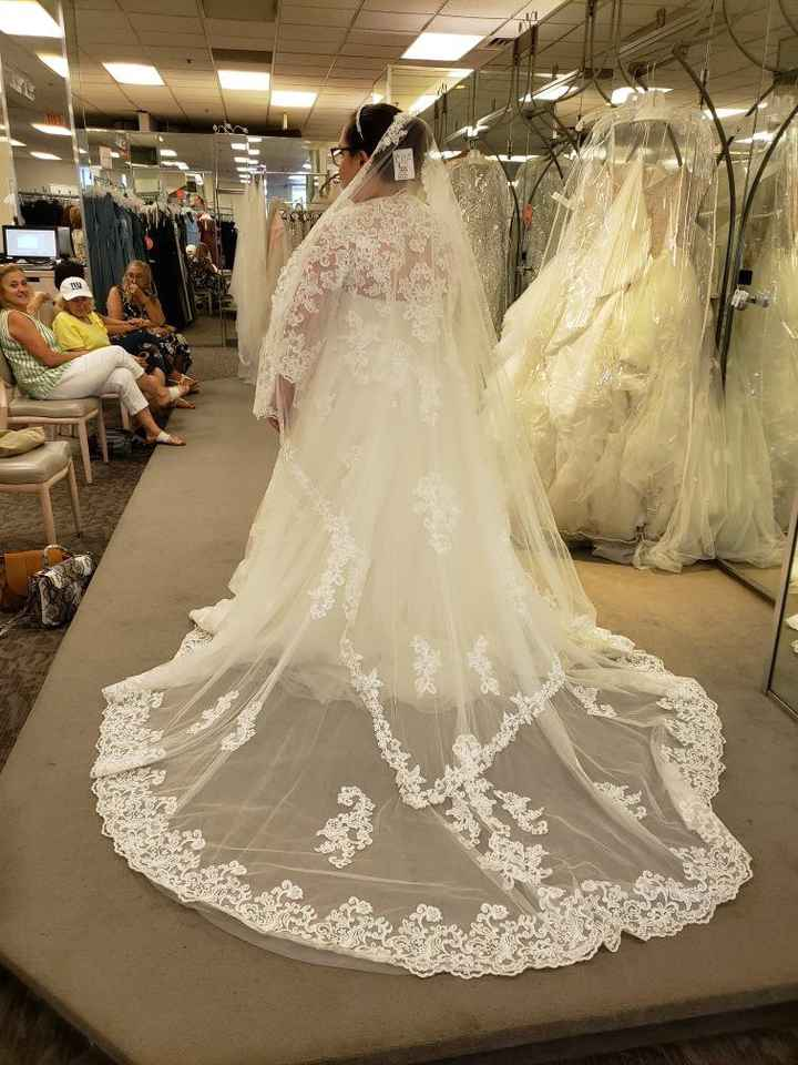Second thoughts about wedding dress - 2