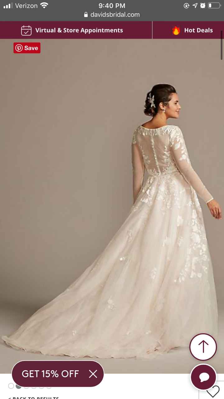 Dresses from David's Bridal - 3
