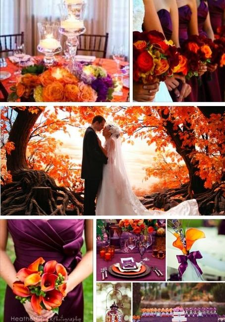 Fall Wedding Color Suggestions 6