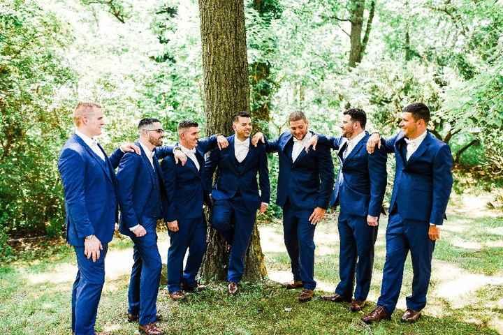Navy Blue & Blush Wedding - 2