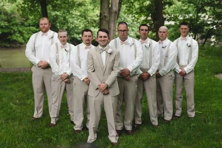 Navy Blue & Blush Wedding - 3