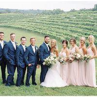 Blush Wedding Dress - 1