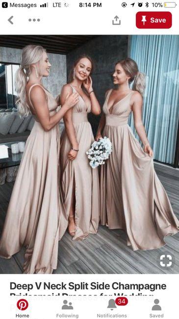 2928d236775 Help! Gold bridesmaid dress! 1
