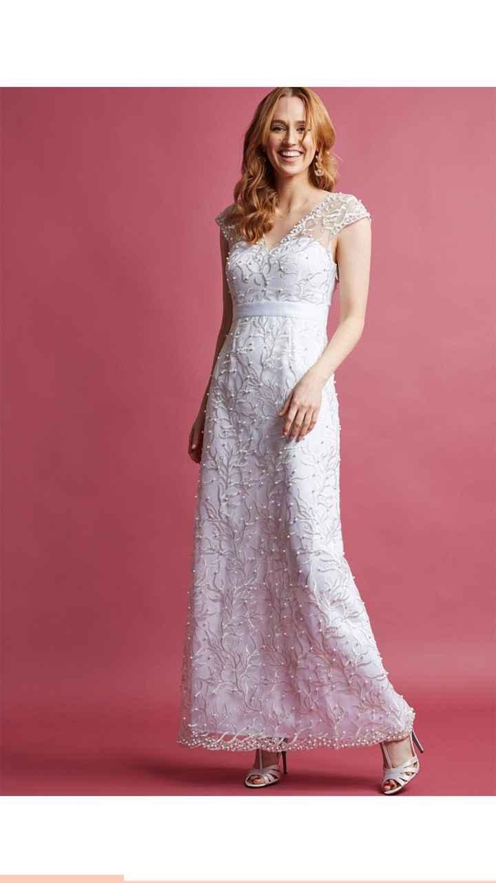 How soon is too soon buy a dress? - 1