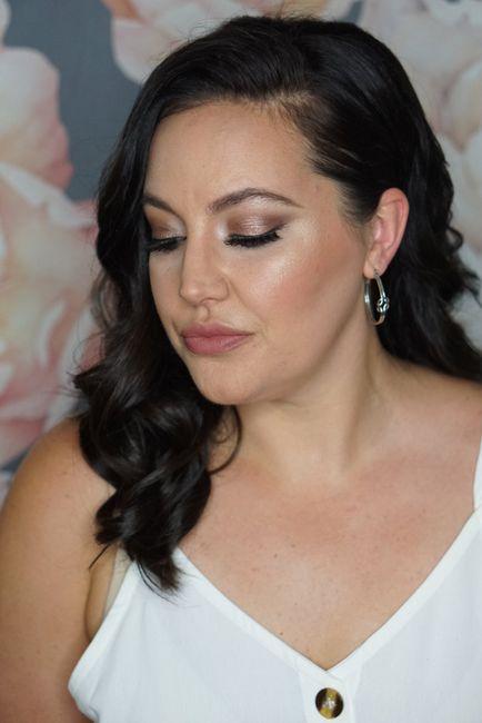 Hair & makeup trial! 2