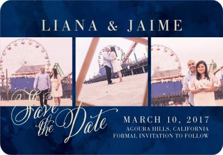 Save the dates - picture or no picture? 4