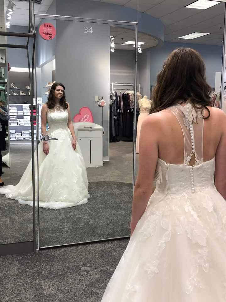 Afraid that Groom Won't Like My Dress - 1