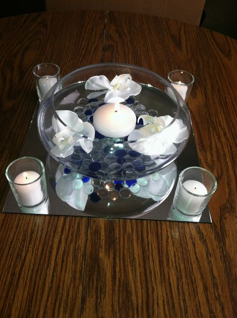 Mock up of centerpieces pics weddings do it yourself for Do it yourself table decorations