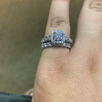 48 days to go.. we purchased my wedding band today, now it's really starting to sink in!!! - 1