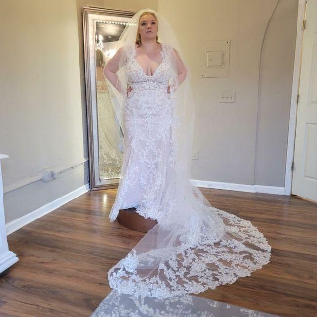Finally Picked Up My Dress!! 4