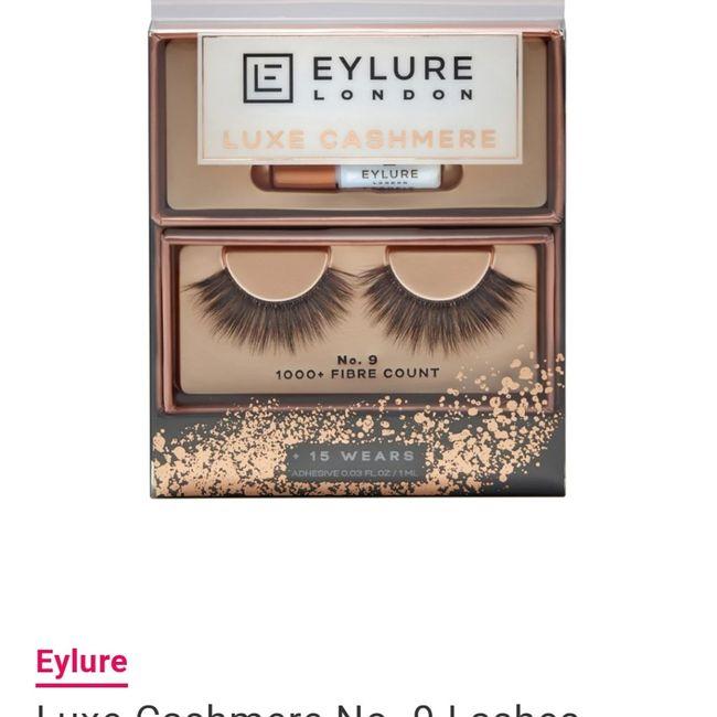 Best False Eye Lash Brand? 1