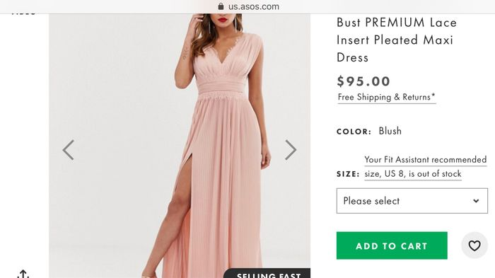 Bridesmaid's Dresses Recommendations 2