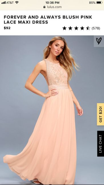 Bridesmaid's Dresses Recommendations 3